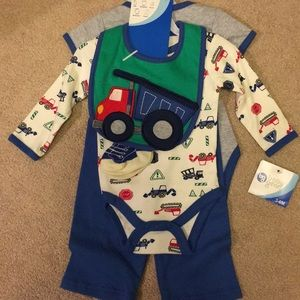 Baby Gear Matching Sets - Baby boy construction set